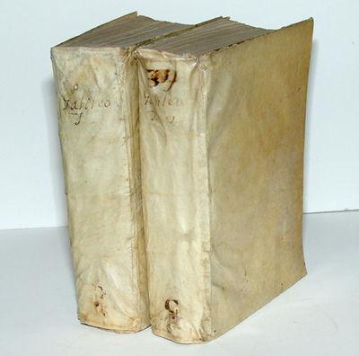 Bologna: HH. del Dozza, 1655. Hardcover. Near Fine. Large 4to.. 2 volumes. I: (14) ff., 48, 48 pp., ...