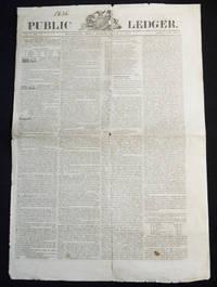 image of Public Ledger vol. 1 no. 1 -- Philadelphia, Friday Morning, March 25, 1836