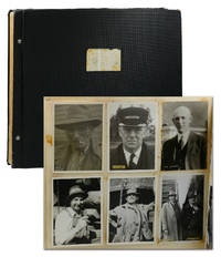 Photo album of 357 vernacular portraits of American railroad workers