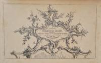 image of A collection of ornamental designs, applicable to furniture, frames & the decoration of rooms in the style of Louis 14th - on 24 plates, chiefly after Thos. Chippendale.