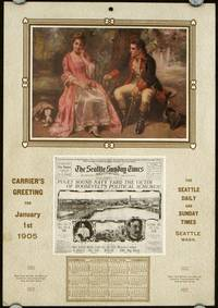 Courtship. Carrier's Greeting for January 1st 1905