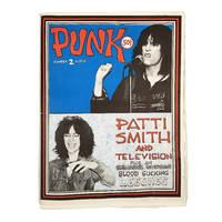 """Punk Magazine, Vol. 1, No. 2., March 1976: """"Patti Smith and Television."""