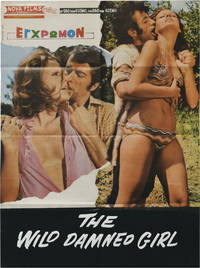 image of The Wild Damned Girl (Original poster for the 1970 film)