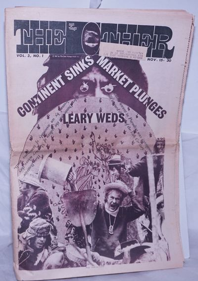 New York: The East Village Other, 1967. Newspaper. 32p., folded tabloid underground newspaper, artic...