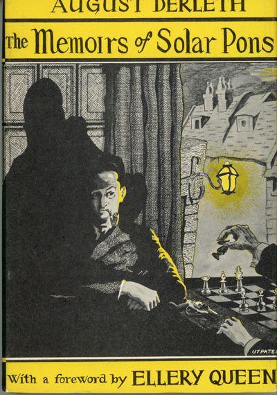 Sauk City, Wisconsin: Mycroft & Moran: Publishers, 1951. Octavo, cloth. First edition. 2038 copies p...