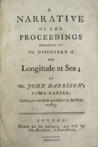 Narrative of the Proceedings Relative to the Discovery of the Longitude at Sea