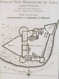 1747 Plan from Prevost's 'Histoire Generale des Voyages': Plan du Fort Hollandois de Sama nomme St Sebastien, Situe a la Coste de Guinee par les 4 Deg. 35 mins. de Latitude