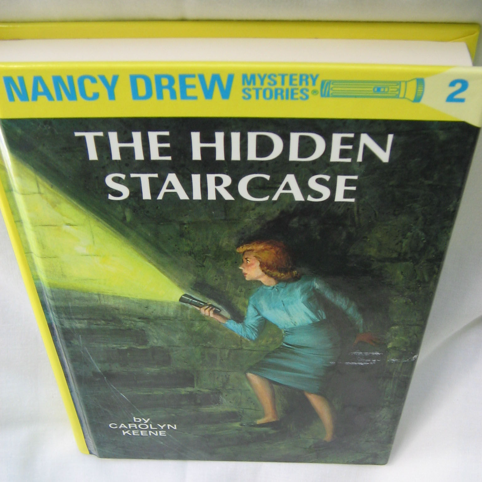 The Hidden Staircase By Carolyn Keene   Hardcover   May 1, 1976   From  Adventures In Books And Biblio.com