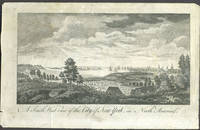 image of A South West View of the City of New York, in North America.  Copper engraving