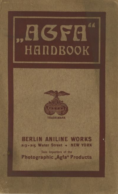 New York: Berlin Aniline Works, 1900. 12mo., 88, pp., blanks. Illustrations from engravings. Stiff p...