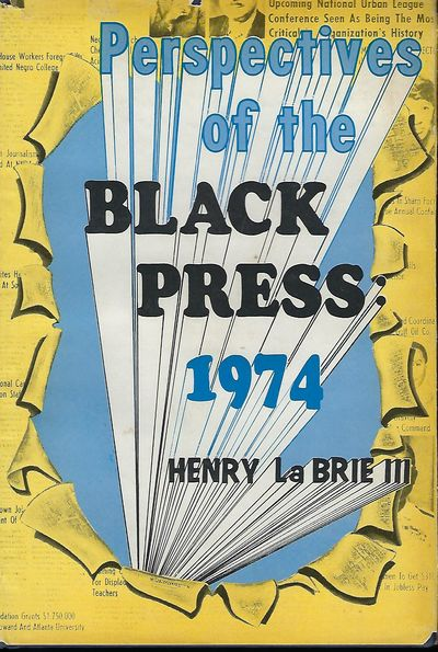 Kennebunkport, Maine: Mercer House Press, 1974. First Edition. Signed presentation from La Brie to E...