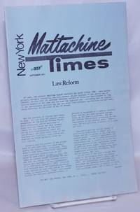 image of New York Mattachine Times: September 1971: Law Reform