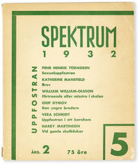 image of Spektrum - Vol.2, No.5 (1932)
