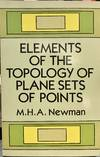 Elements Of the Topology Of Plane Sets Of Points