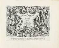 Venationes ferarum, avium, piscium. Pugnae bestiariorum & mutuae bestiarum, depictae a loanne Stradano..