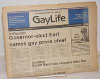image of Chicago GayLife: the Midwestern gay weekly; vol. 8, #26, Thursday, December 9, 1982: Wisconsin Governor-elect names gay press chief