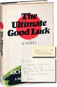 image of The Ultimate Good Luck (First Edition, inscribed to fellow author Chris Offutt)