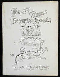image of Toasts for the Times in Pictures and Rhymes by John William Sargent; Pictured by Nella Fontaine Binckley
