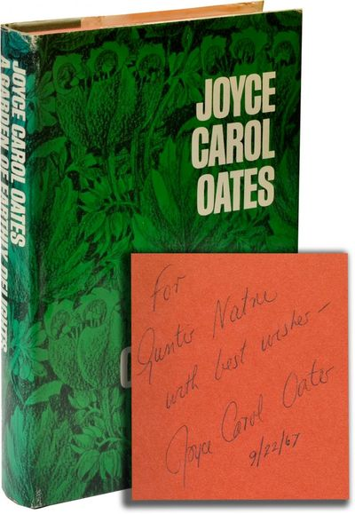 New York: The Vanguard Press, 1967. First Edition. First Edition. INSCRIBED by the author on the fro...