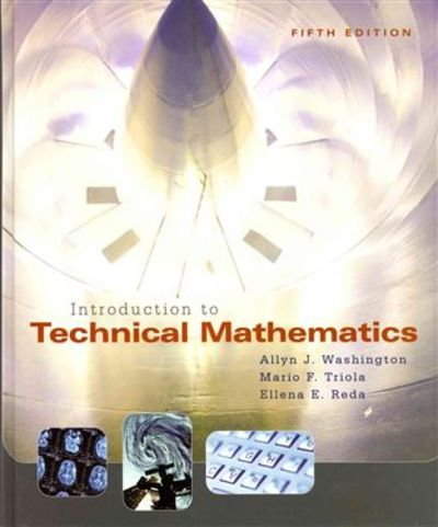 introduction to technical mathematics by washington  allyn Technical Resources Technical Schools Guide