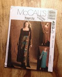 image of McCALL'S SEWING PATTERN: #4213: McCALL'S WOMAN'S DAY COLLECTION: Misses' Empire Waist Dress: Size DD: 12-14-16-18