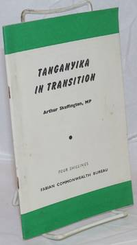 image of Tanganyika in transition: foreword by John Hatch