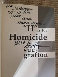 H Is for Homicide (SIGNED)