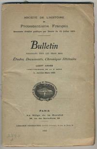 Bulletin.