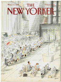 image of NEW YORKER: COVER LUNCH CROWD by JEAN-JACQUES SEMPE