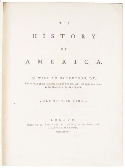 The History of America ...