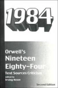 image of Orwell's Nineteen Eighty-Four: Text, Sources, Criticism (Harbrace Sourcebooks)