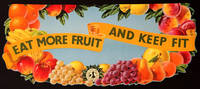 Shop Display advertising for Fruits and Vegetables