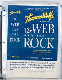 THE WEB AND THE ROCK by  Thomas Wolfe - Paperback - Galley Excerpts - 1939 - from Gravelly Run Antiquarians (SKU: 39174)