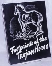 image of Footprints of the Trojan horse; some methods used by foreign agents within the United States. Illustrations by Jack Betts