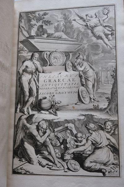 THESAURUS GRAECARUM ANTIQUITATUM, in...
