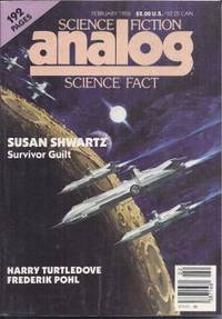 """image of ANALOG Science Fiction/ Science Fact: February, Feb. 1986 (""""The Coming of The Quantum Cats"""")"""