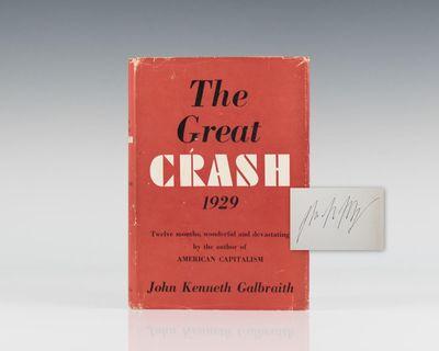 the great crash by john kenneth galbraith thesis November 29, 2013 john kenneth galbraith i am halfway through steven p dunn's book, the economics of john kenneth galbraith.