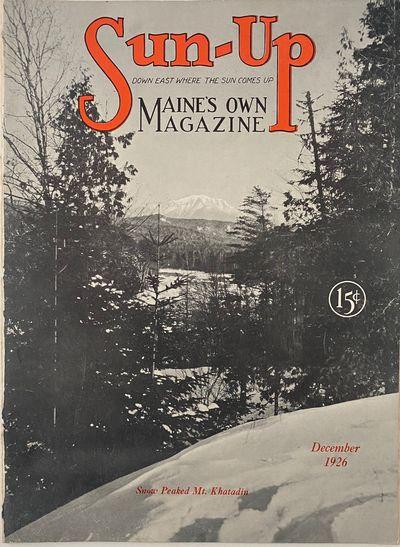 Portland, Maine: Wood-Gate Publishing Co, 1926. Sewn binding. Near fine. 4to; 32pp; stiff b&w pictor...