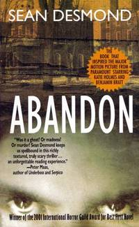 Abandon by  Sean Desmond - Paperback - 2002-03 - from Kayleighbug Books and Biblio.com