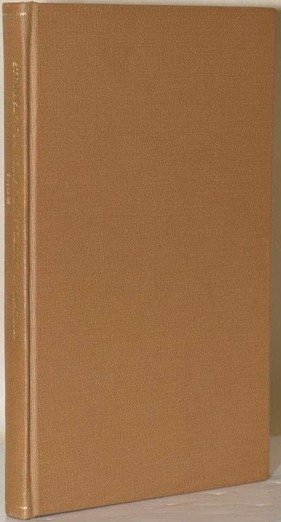 The Johns Hopkins University Press, 1900. Hard Cover. Near Fine binding. An clean and attractively r...