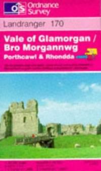 image of Vale of Glamorgan, Rhondda and Porthcawl (Landranger Maps)