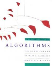 Introduction to Algorithms (MIT Electrical Engineering and Computer Science) by Thomas H. Cormen - Paperback - 1990-08-06 - from Books Express and Biblio.com