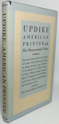 image of UPDIKE: AMERICAN PRINTER AND HIS MERRYMOUNT PRESS