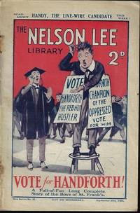 """image of THE NELSON LEE LIBRARY; The St. Frank's Weekly: New Series No 21, September, Sept. 25, 1926 (""""Vote for Handforth!"""")"""