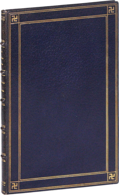 Garden City, NY: Doubleday, Page & Company, 1919. First Edition. One of 70 copies printed for copyri...