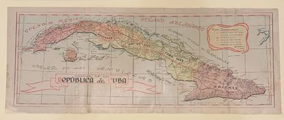 Havana: P. Fernandez Y Cia, 1948. Illustrated in black and white, with 7 folding maps in color. 336 ...