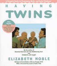 image of Having Twins: A Parent's Guide to Pregnancy, Birth and Early Childhood