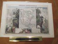 Amerique Septrionale [ Original Map From The Atlas Universal Illustre, By Levasseur, V. / Laguillermie]