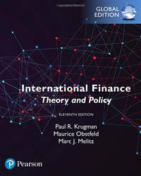 International Finance: Theory and Policy, Global Edition 11th Edition