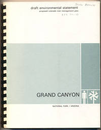 Draft Environmental Statement Proposed Colorado River Management Plan, Grand Canyon National Park, Arizona